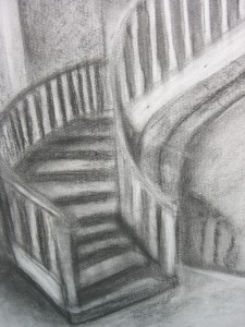 Koolimaja trepp